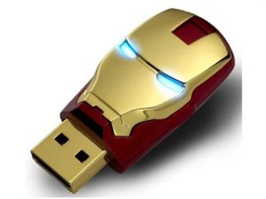 Iron Man Mark 8gb Usb2.0 Flash Drive