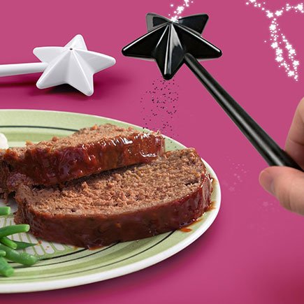 Magic Fairy Wand Salt and Pepper Shakers