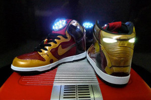 Iron Man Nike Dunks shoes