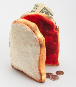 Peanut Butter and Jelly Sandwich Pouch