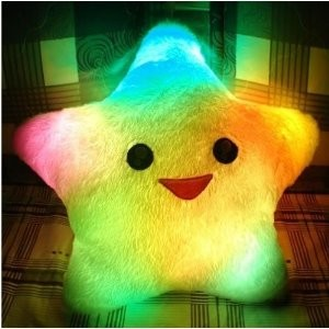 Smile Star LED Light Pillow
