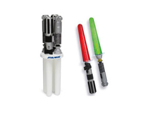 Star war lightsaber ice pop maker