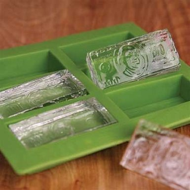 $100 Bill Ice Cube Mold