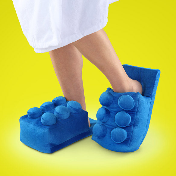 LEGO Building Brick Slippers