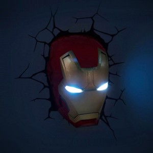 Iron Man Mask 3D Deco Light