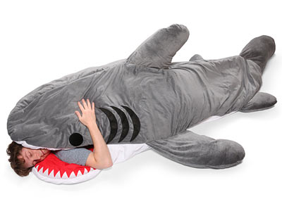shark-sleeping-bag