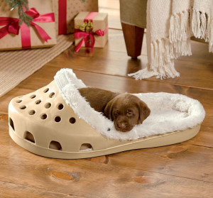 Shoe shaped Dog bed