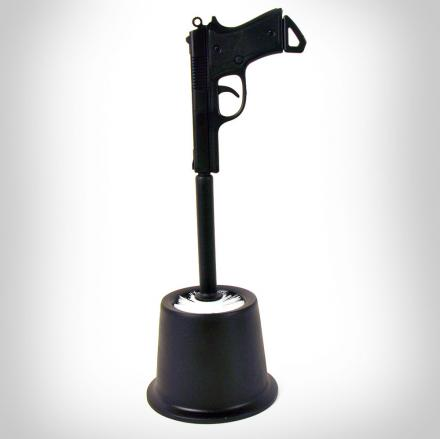 Gun Toilet Brush