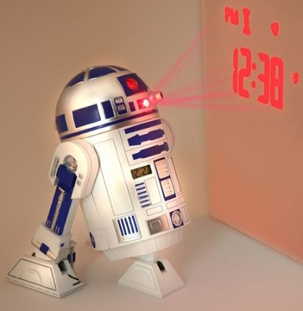 R2D2 Projection Alarm Clock