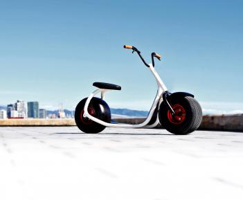 Scrooser Electric Kick Paddle Scooter