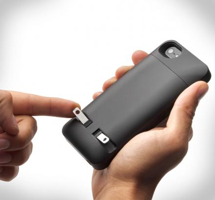 iPhone Case With Wall Plug