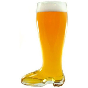 Glass Boot Beer