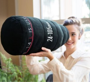 Dslr Camera Lens Pillow