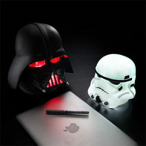 Star Wars helmet night lights