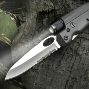 Tactical Knife With Flashlight