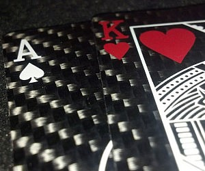 The Carbon Fiber Playing Cards