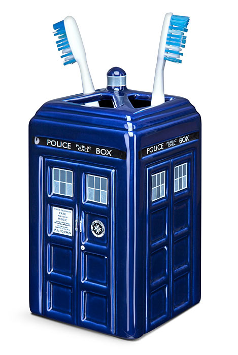 Doctor Who Toothbrush Holder