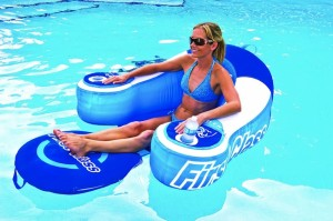 Drink Cooling Pool Lounger