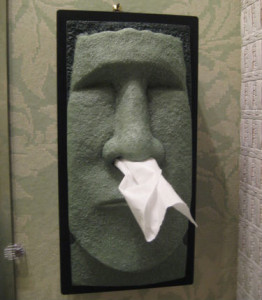 Tiki Tissue Dispenser