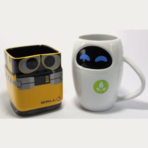 WALL-E And Eve coffee Mug Set