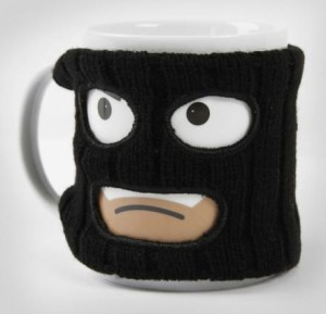 Thief With Ski Mask Coffee Mug