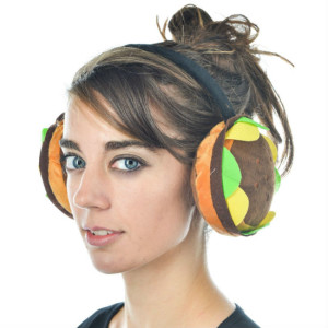 Hamburger Earmuffs